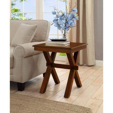 ''Better Homes and Gardens Maddox Crossing End Table, Cognac W''