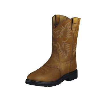 Ariat Work Boots Mens Sierra Saddle Pull On 10002304