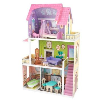 KidKraft Florence Dollhouse in Pink and Purple