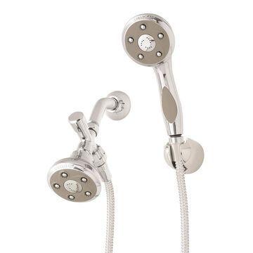 Speakman Napa Brushed Nickel 3-Spray Dual Shower Head 2.5-GPM (9.5-LPM)
