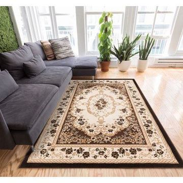 Well Woven Dulcet Versaille Traditional Brown Area Rug
