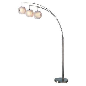 3-way Deion Arch Floor Lamp - Lite Source