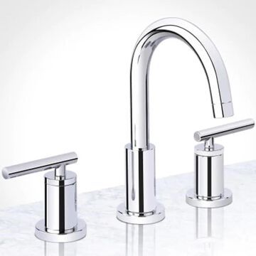 Miseno Mia Polished Chrome 2-Handle Widespread WaterSense Bathroom Sink Faucet with Drain   MNO1343CP