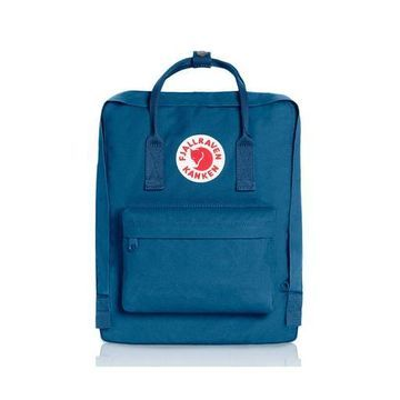 Fjallraven - Kanken Classic Backpack for Everyday Lake Blue