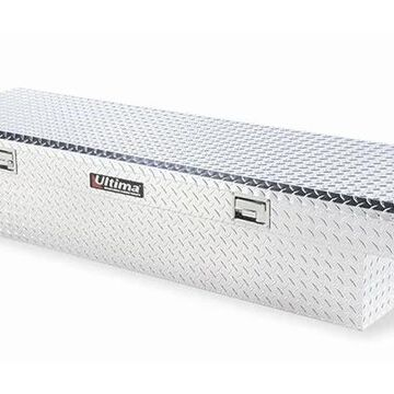 Lund Ultima Single Lid Truck Tool Box in Polished, Fits Full Size Trucks - Deep Box