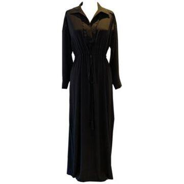 Taylor Plus Size Jersey-Knit Maxi Shirtdress