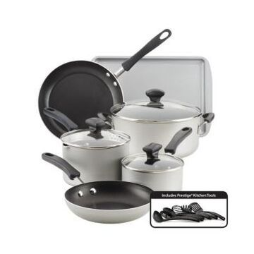 Farberware Cookstart Aluminum DiamondMax Nonstick 15-Pc. Cookware Set