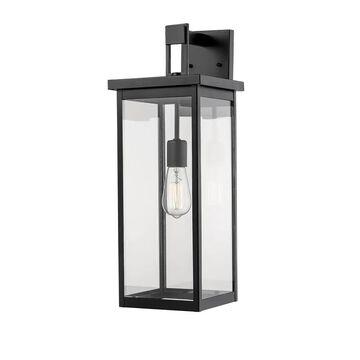 Millennium Lighting 22-in H Powder Coat Black Medium Base (E-26) Outdoor Wall Light   2602 PBK