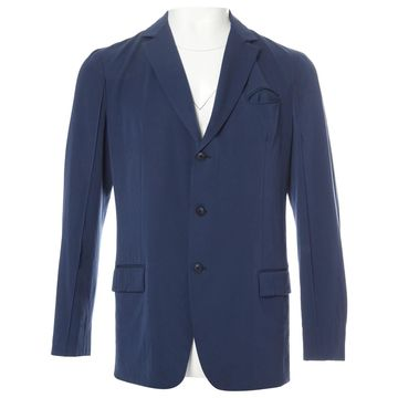 Bottega Veneta Navy Wool Jackets