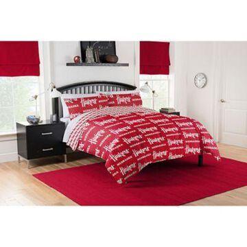 Nebraska Cornhuskers 5-Piece Full Bed in a Bag Comforter Set Multi