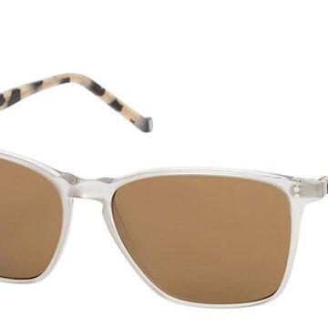 Hackett HSB886 950 Men's Sunglasses Silver Size 56