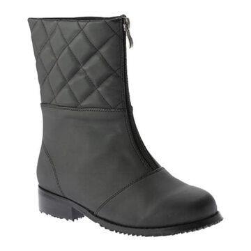 Beacon Shoes Women's Quebec Boot Black Vylon