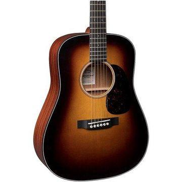 Martin D Jr. Sunburst Acoustic Guitar Natural