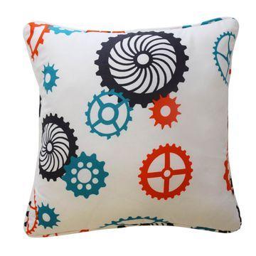 Waverly Robotic Square Throw Pillow