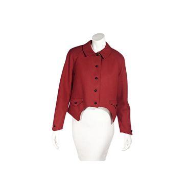 Geoffrey Beene Red Wool Jackets
