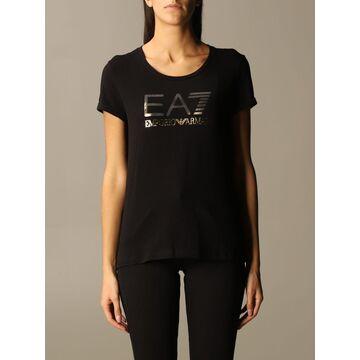Ea7 T-shirt Ea7 T-shirt With Laminated Logo