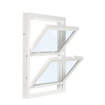 ReliaBilt 3201 Vinyl Replacement White Exterior Double Hung Window (Rough Opening: 32-in x 53.75-in; Actual: 31.75-in x 53.5-in)