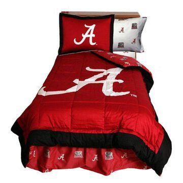 Alabama Crimson Tide Reversible Comforter Set, Twin, Full