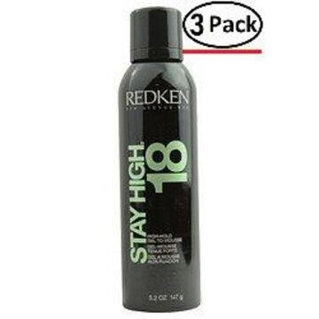 REDKEN by Redken FASHION COLLECTION STAY HIGH 18 5.2 OZ for UNISEX ---(Package Of 3)