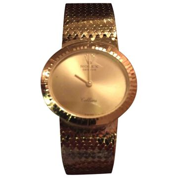 Rolex Cellini Gold Yellow gold Watches