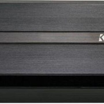 KICKER - PXA-Series 500W Class D Mono Amplifier with Selectable Low-Pass Crossover - Black