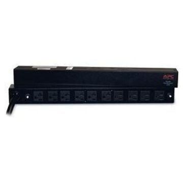 APC Basic Rack 2.88kVA PDU - 10 x NEMA 5-20R - 2.88kVA - 1U 19