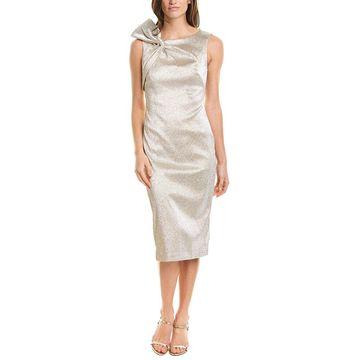 Theia Womens Midi Dress