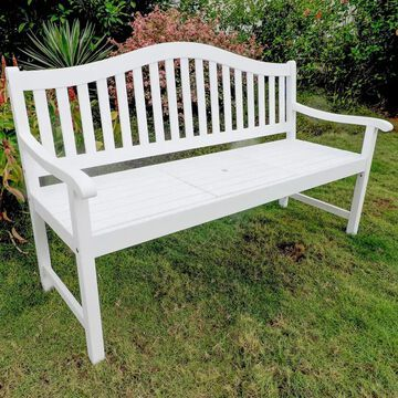 International Caravan Royal Fiji 5-Foot Garden Bench with Table