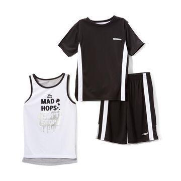 Black & White 'Mad Hops Can't Stop' Tank Set - Infant, Toddler & Boys