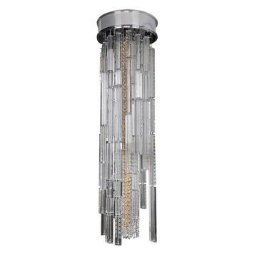Allegri 11128010FR001 Nine Light Convertible / Pendant Or Flush Mount - One Size (One Size - Clear)
