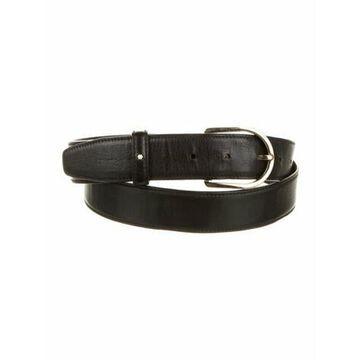 Leather Waist Belt Black