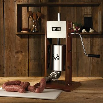 Realtree Vertical Sausage Stuffer - 7 lb Capacity (Dual speed) (w/ Cover)