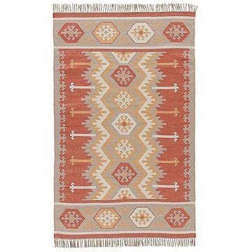 Jaipur Emmett Indoor/Outdoor Area Rug - Color: Orange - Size: 5 ft x 8 ft - RUG121551
