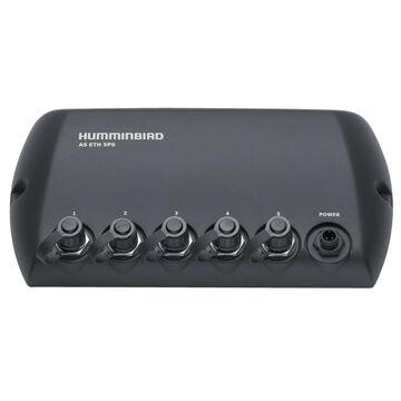 Humminbird AS-ETH-5PXG 408450-1 Waterproof Switch w/ 5 Port Ethernet Switch & NMEA 2000 Complaint