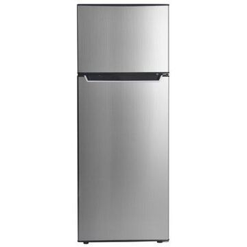 Danby 7.3 Cu. Ft. Apartment Size Refrigerator DPF073C2BSLDB, Stainless Steel