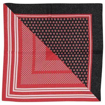 Burberry Red Silk Scarves & pocket squares