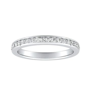 Auriya 1/4ctw Diamond Wedding Band 14k Gold