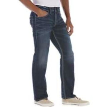 Silver Jeans Co. Dark Wash Relaxed Fit Jeans