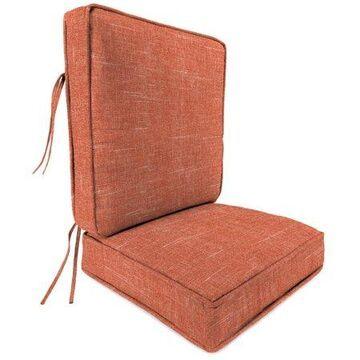 Jordan Manufacturing Boxed Edge 2-Piece Deep Seating Patio Cushion