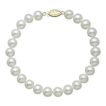 Sofia Sofia White Cultured Freshwater Pearl Strand Bracelets No Color Family
