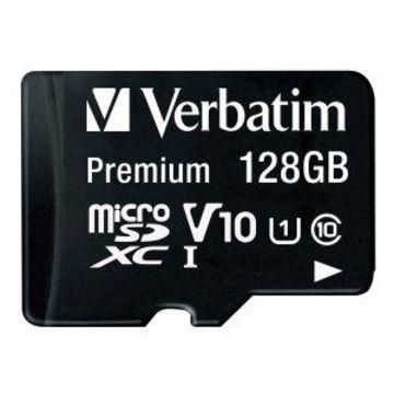 Verbatim Premium - flash memory card - 128 GB