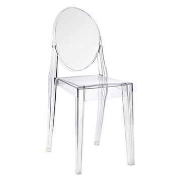 Modway Modway Casper Dining Side Chair, Clear