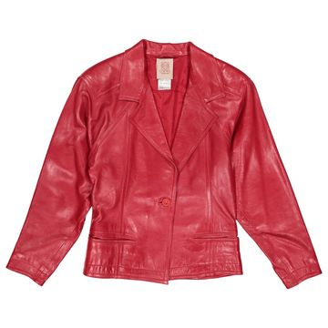 Loewe Red Leather Jackets
