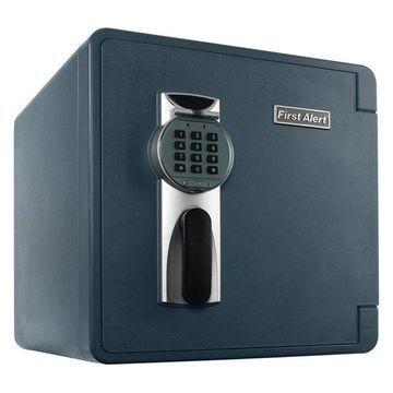 First Alert 1.3 Cubic Feet Grey Fire & Water Safe with Digital Lock