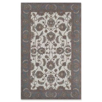 Rugs America New Dynasty 8' x 10' Area Rug in Ivory/Light Blue