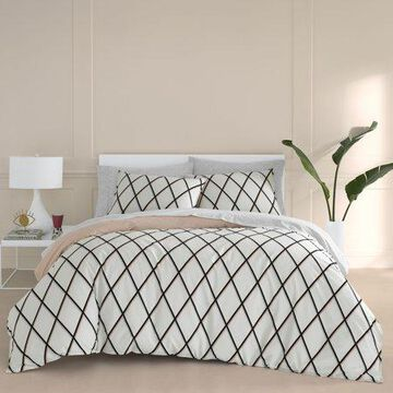 Jonathan Adler Martine Pink Duvet Cover Set, Full/Queen