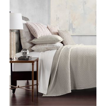 Speckle Cotton Quilted Twin Coverlet, Created for Macy's