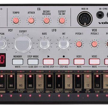 Korg 16-Key Sound Module (VOLCABASS) Korg Volca Bass