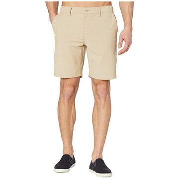 RVCA All Time Coastal Solid Hybrid (Khaki) Men's Shorts