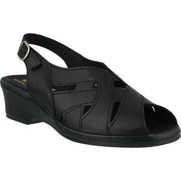 Spring Step Women's Marina Black Leather